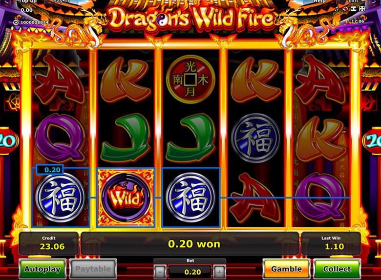 Stargames ist ein sicheres Casino, wo Sie Dragons Wild Fire in Deutsch spielen können, mit Ihrer Wahl der Währung.
