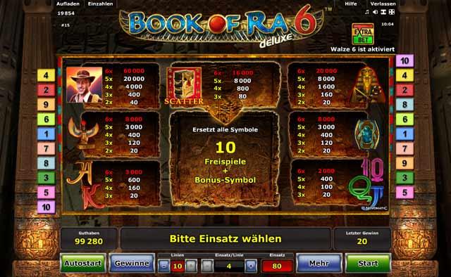 Book of Ra Deluxe Jetzt auf Stargames spielen